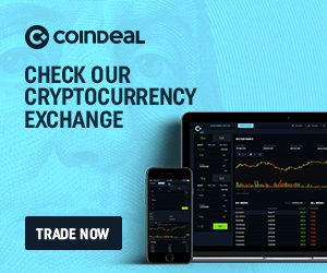 Coindeal Affiliate Banner