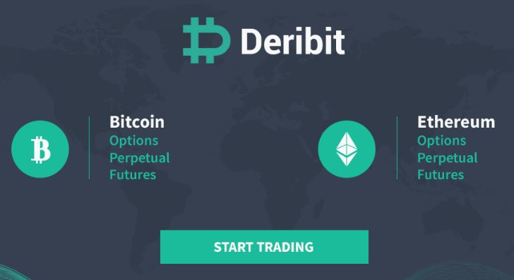 Deribit Referral Main Page